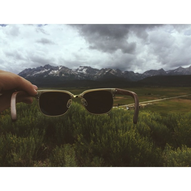 The Sawtooth Mountains featuring The Sawtooth PC: @naturallyjulia