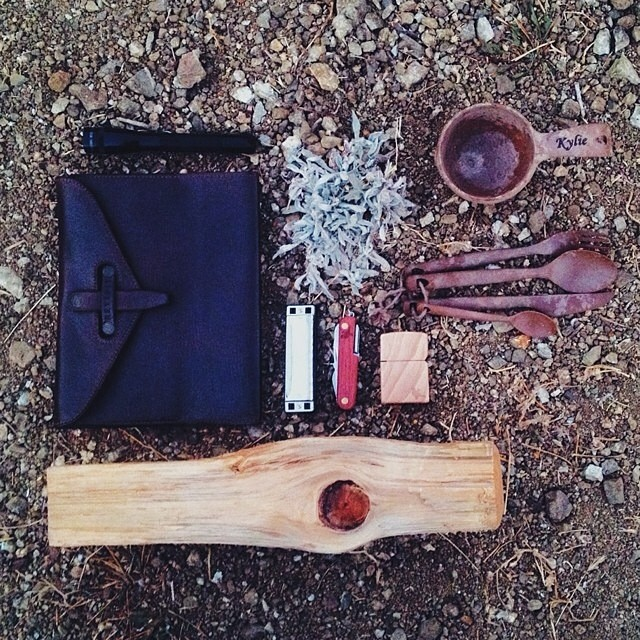 #NatureOfProof featuring our Walnut Pocket Knife & Wood Lighter PC: @kylieturley