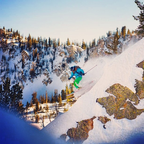 #camsquatch sighting. Cam Doane getting down on a nice little rock spine in some nice afternoon light! #kittenfactory