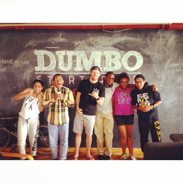The Summer of STOKED continues with our students now in their Tech & Entrepreneurship Bootcamp. These 5 took advantage of the always awesome owner of DUMBO Start Up Lab (@dumbostartuplab) John, to pick his brain and learn what it takes to make it....