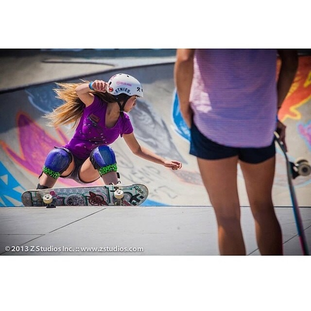 Don't miss #TeamB4BC skaters @allyshabergado and @knoopdogg at the #VanDorenInvitational Women's Bowl Contest TODAY at 4pm at the #VansUSOpen!! #behealthygetactive #usopenofsurfing #vanswbowl