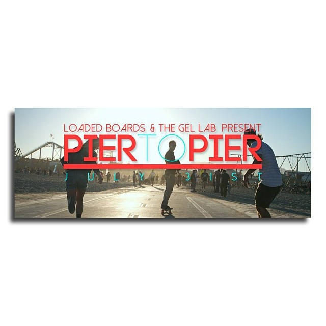 Join us for the #PierToPierSkate this Thursday! Meet at the #VenicePier at 6pm and we will skate to the @santamonicapier #TwilightConcerts