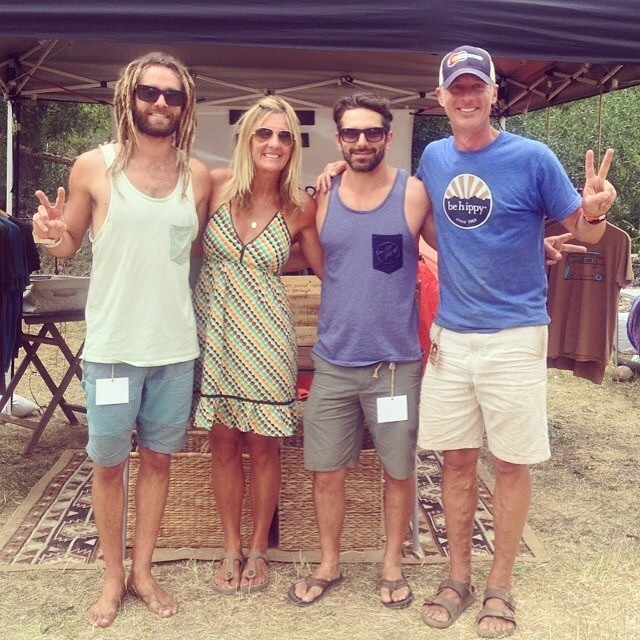 Reminiscing about our epic trip to the Groove Music and Arts festival last weekend. Be Kind Tribe Ambassadors @to_the_sea8 and @mnhebert had the pleasure of meeting this rad couple, Bart and Leigh from @peacelovebehippy