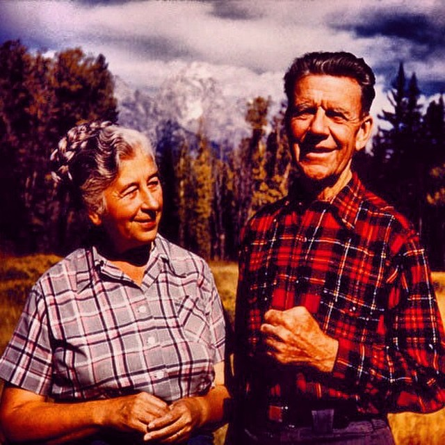"Mardy & Olaus.  Mardy aka the ""Grandmother of the Conservation Movement"" helped setup the Wilderness Act (protected over 9 million acres of public land) and the Arctic National Wildlife Refuge (over 19 million acres of Northeastern Alaska) – no big..."