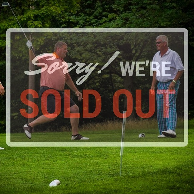 The 2nd Annual High Fives East Coast Charity Golf Tournament is SOLD OUT! Thank you to all the amazing sponsors and 36 registered teams, We'll see you all on Friday, August 22 at the @sugarbush_vt Golf Club!