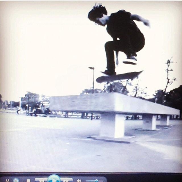 Line  @renatodonadei filmado por @jorgallery #volcomfamily #volcom #Skate #volcomstoneage
