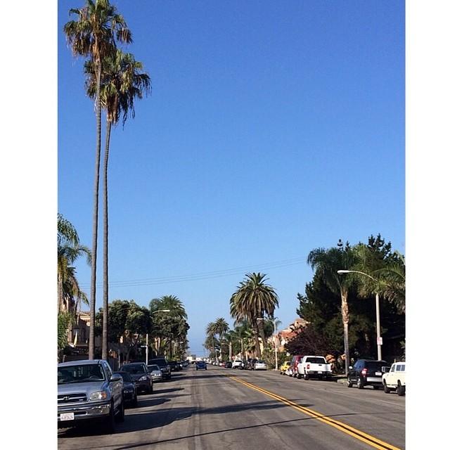 Estamos en California acompañando a @dariomattarollo en el marco del #vansusopen. Esta es la vista desde nuestra casa. En un ratito nos vamos para el Bowl