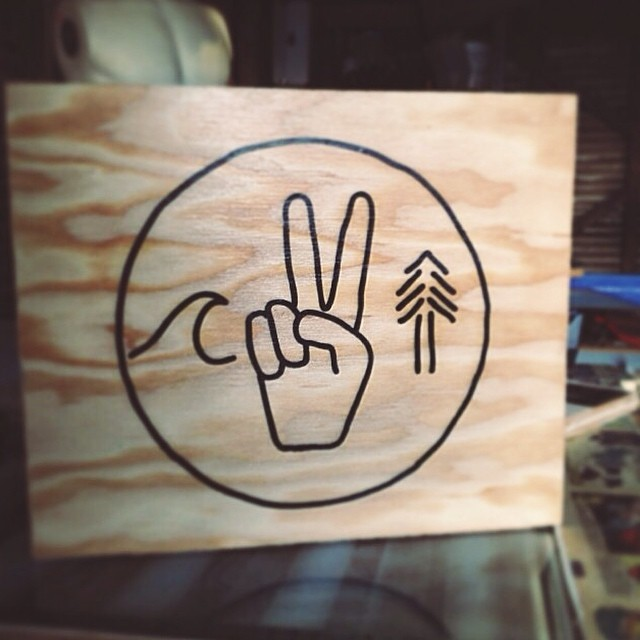 Our good buds over at @alchemyarchives are doing wood prints of some of our designs