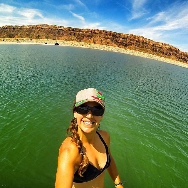 Desert selfie love...good to be home.
