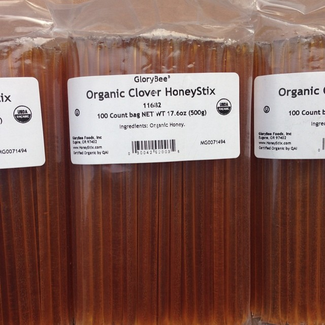 Organic Honey sticks getting packed for Outdoor Retailer next week! Come check our our Spring 2015 collection at booth #PV2018 and try some of our famous Local Honey Margaritas! Looking forward to seeing everyone there! #localhoneydesigns...