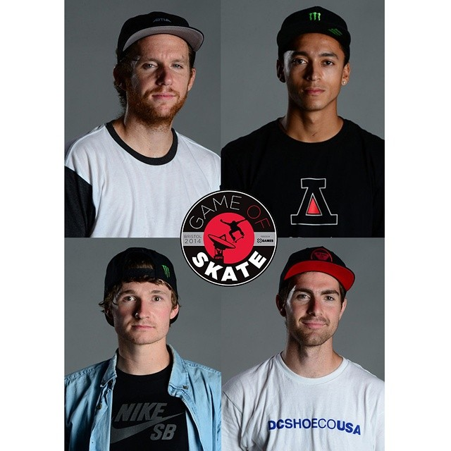 The final four is set!  Who will be the last man standing in the #ESPNGameOfSkate?  Watch live on ESPN3 now!!