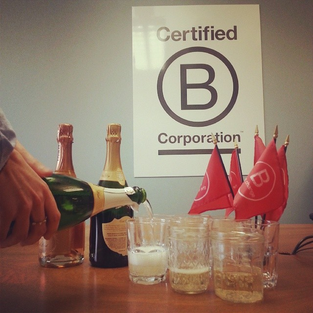 Cheers to #1000BCorps from all of us at B Lab! #BtheChange