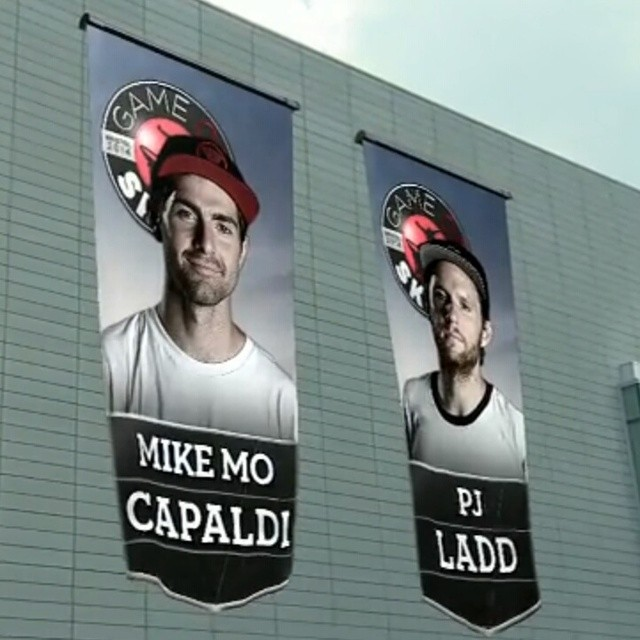 It's @mikemocapaldi vs. @pjladd for the right to be crowned #ESPNGameOfSkate champion.  We're live on ESPN3!