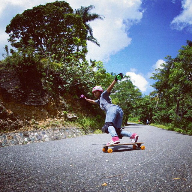 #DominicanRepublic ambassador @pamdiazz gettin' sideways in the sun #caribbeanstyle