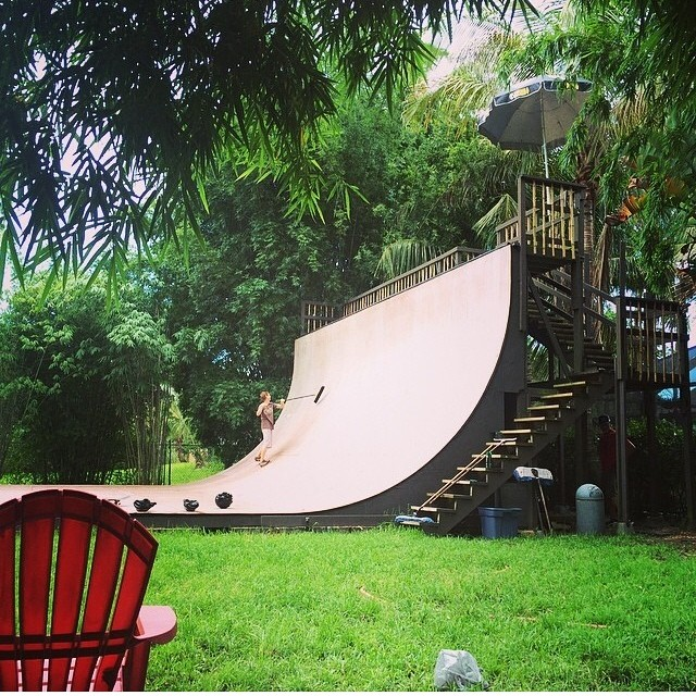 Regram @richpayne666 #vert paradise west palm  #skateboarding