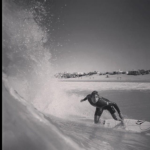 Repost Feli Suárez respirando verano! @felisuarez1 #surf #goFeli #Volcom