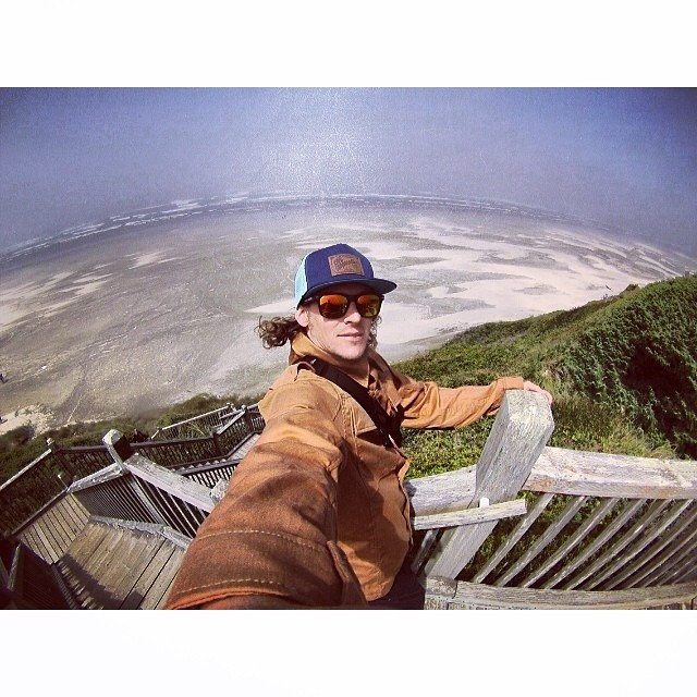 Summer time on the #WestCoast . #PNW | @jamiejacobson8 | #RangerShirt #Roots5Panel ♻️