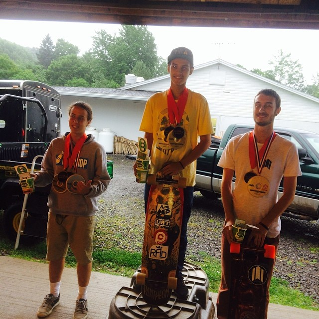 NYCL homie @nycl_david killin it and got 1st in the expert class, Lp dery gets 2nd, and Eric junker snagged 3rd.