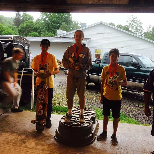 Madison county Gravity Fest JR podium, Lp dery first, nycl homie @nycl_david 2nd, and Matt king snagged 3rd.