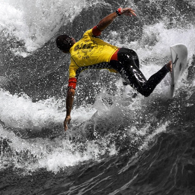 US Open action #leftcoast #socal #coldwatersurf