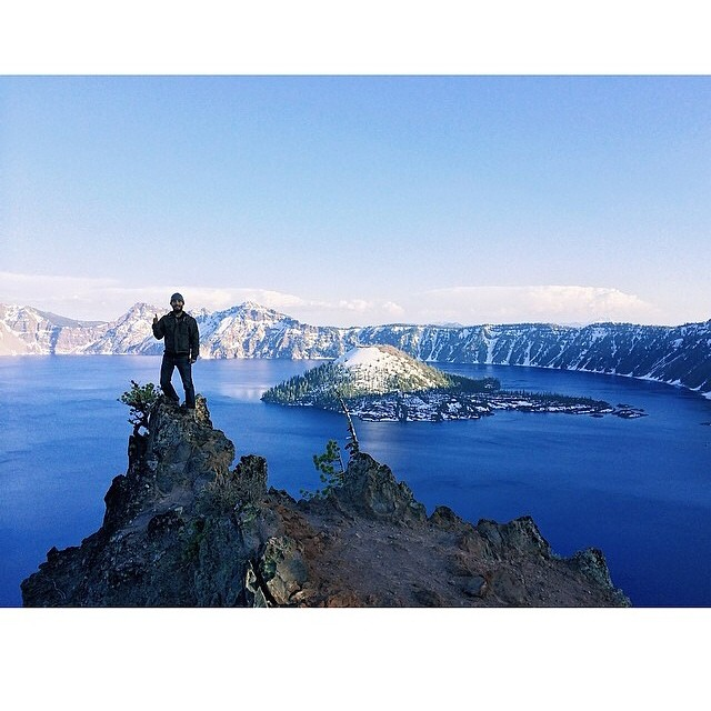 #radparks indeed my friend. Get your ass outside this weekend. Incredible shot by @samsonkhatae  Tag your outdoor pics with #radparks and we'll feature your adventure.  #craterlake #getoutside #leaveitbetterthanyoufoundit