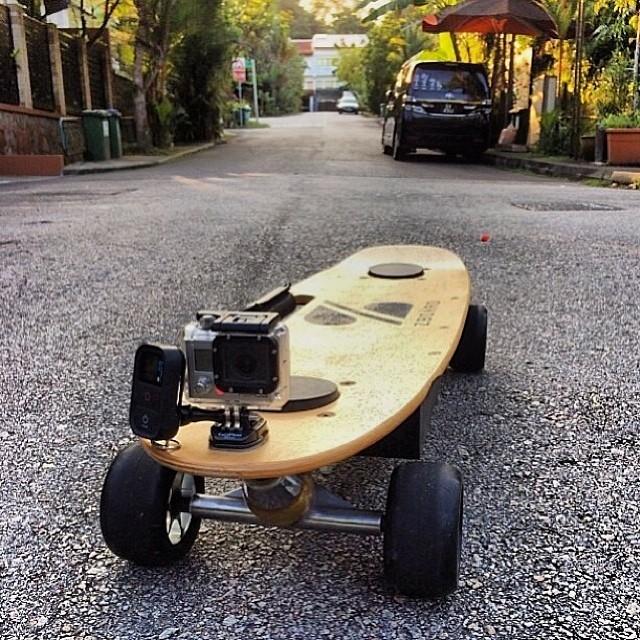 #ZBoard + #GoPro = Fun  Regram from @ethandower28