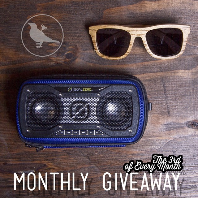 Today's the day!  We teamed up with our friends at Goal Zero for our Monthly Instagram Giveaway!  To be entered in to win: ↠ Post a photo of what you think the #NatureOfProof is before midnight MST tonight ↠ Tag @proofeyewear ↠ Use the hashtag...
