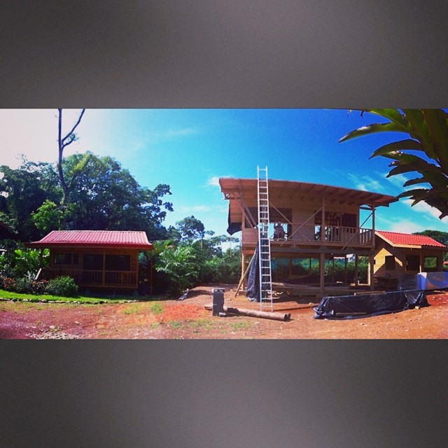 Bodhi Surf Camp construction: progress report