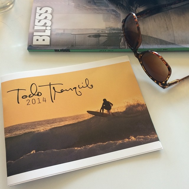 Feels good to have our first catalog in hand. #todotranquilocompany #bl!sss #blisssmag #innovativecollective #surf #thearts #yerbamate #california #sandiego #summer #verano #theswelllife #swellliving #surfstitch @blisssmag
