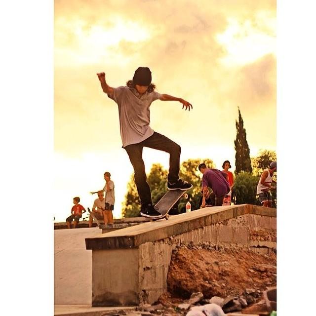 Santi Rezza @santiagorossi x @jorgallery #skate #Volcom
