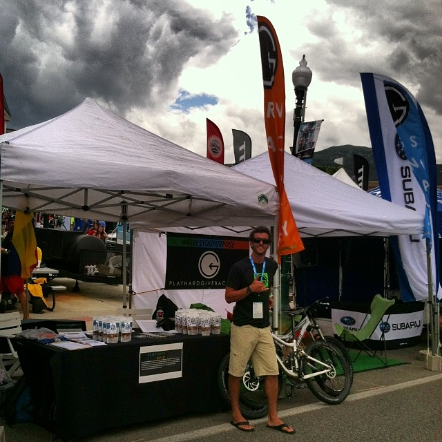 Come stop by the booth here at @thetourofutah !! Tell us what #givesyoupurpose and we will hook you up with some amazing #healthy product !! #phgb