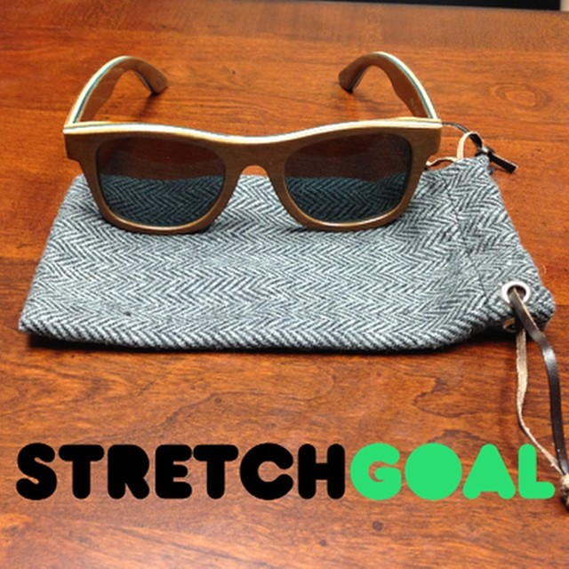 Check out our new wool pouch for our Kickstarter stretch goal! Please visit our Kickstarter campaign to learn more. #bosky #kickstarter #sunglasses