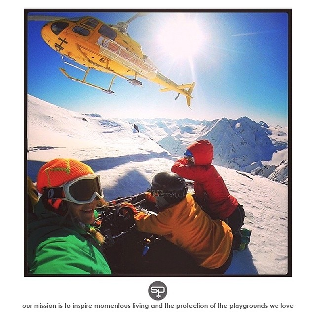 """What would you attempt to do if you new you could not fail."" - Robert Schuller _________________________________  Well... entering @shejumps' #SnowSisters raffle to win a #HeliSkiing trip from @ak_heliskiing would be a good start // Learn more by..."