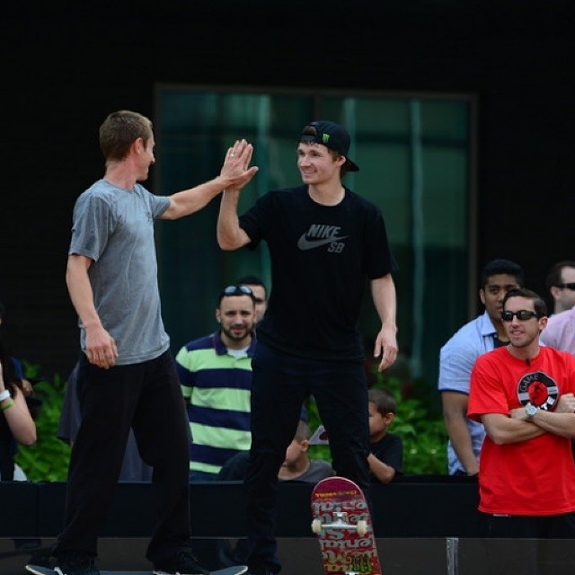 @shanejoneill was flawless in the first round of the inaugural #ESPNGameOfSkate.  Watch the Australian skater's incredible opening round by clicking the link on our profile page. (Photo via @espn_images)