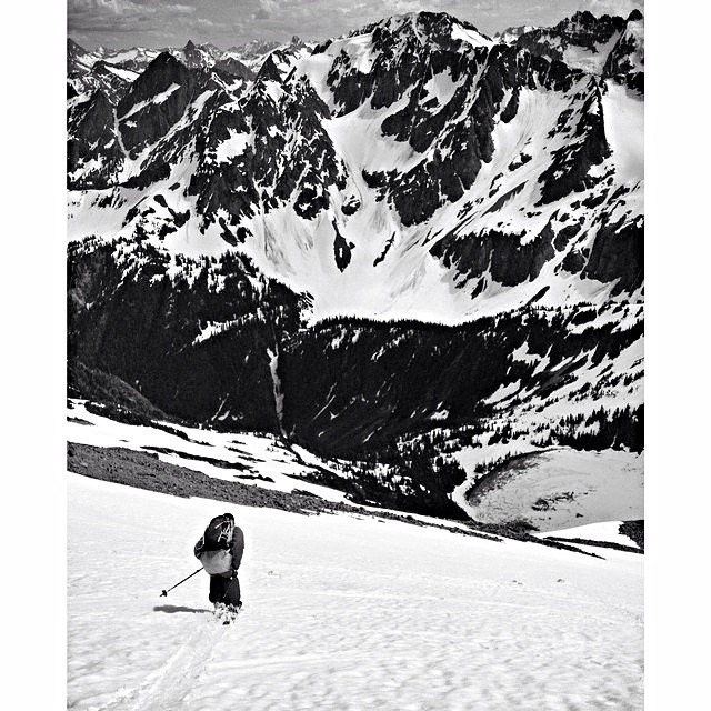 @robaseltine skiied the Cascades this summer. Where did you ski? Does this guy even sleep? #riderowned