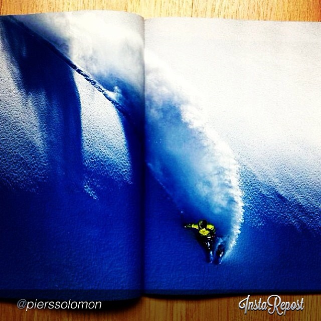 DPS #koala @pierssolomon #powder surfing his way onto the latest @patagonia catalog with @oskar_enander.