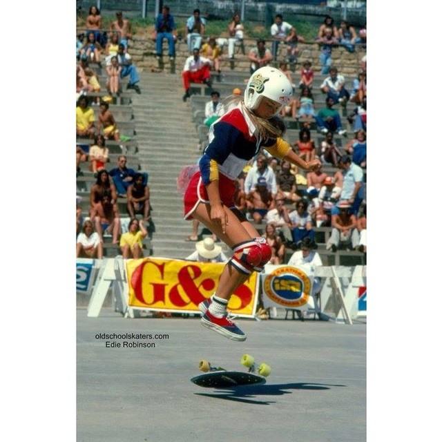 #EdieRobinson back in the day #respect #legend #thankyou #longboardgirlscrew