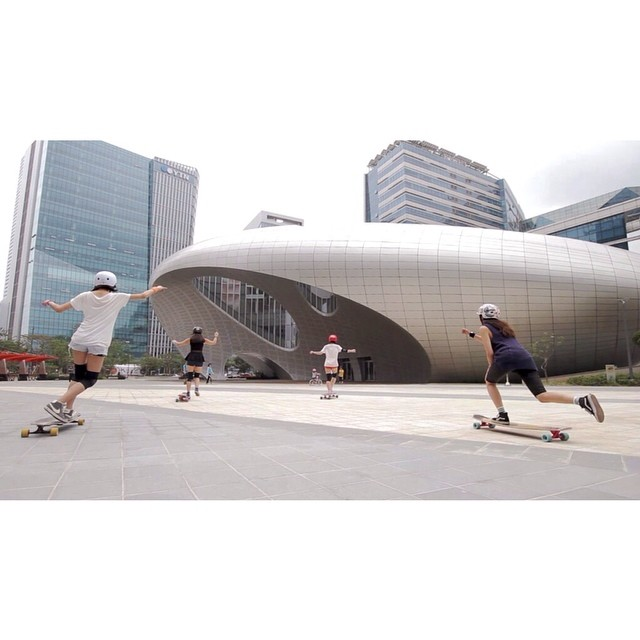 Go to www.longboardgirlscrew.com and check out Longboard Girls Crew #Korea latest edit! We love girls skating all around the world. Jooneon Kim photo #longboardgirlscrew #girlswhoshred