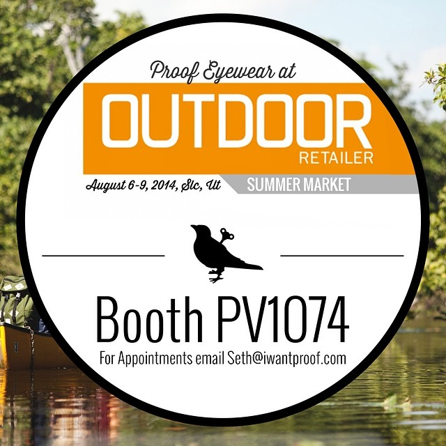 Headed to Outdoor Retailer today?  Stop by Booth PV1074! #orshow