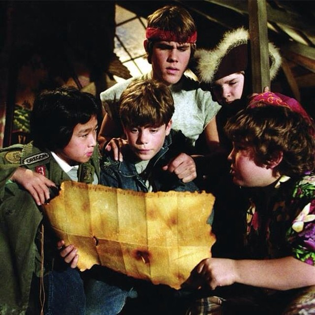 Don't miss The Goonies, this Friday, August 8th at @cahwy89 with a awesome meal from Marg's Taco Bistro Truckee! #dinnerandamovie