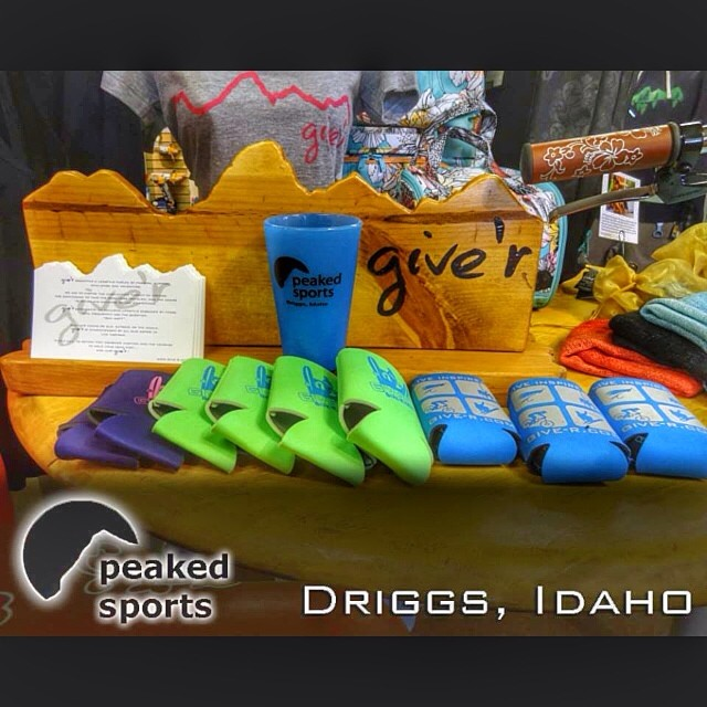 Pumped to welcome #peakedsports over the hill in Driggs, ID as our newest retailer!! Now you can Give'r in #idaho too