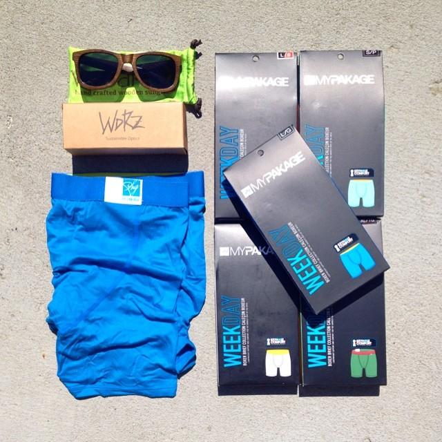 Want to win this prize pack with hand crafted wooden sunglasses from @woodroze and 5 pairs of MyPakage? Post your awesome photos tagged with @mypakage and #permissiontoplay to be instantly entered in this week's giveaway!