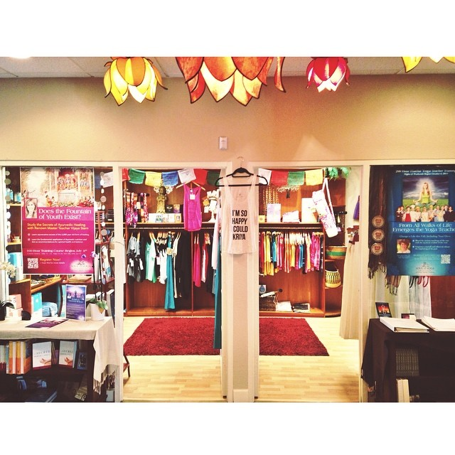 Our consciously crafted apparel is now available at Soul of Yoga in Encinitas