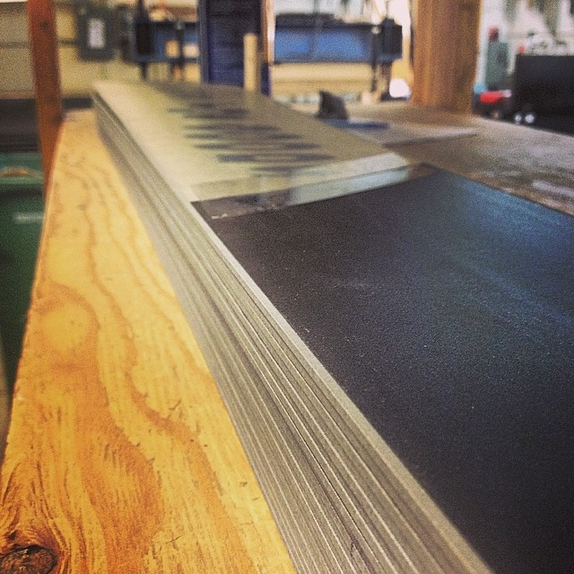 "Perhaps the most consistent bases in the industry are created from beginning to end right here in our factory. Never edge or base high. Always flat and never ""bananad"". Serious commitment to quality. #whomakesyourskis #skiercrafted always!"