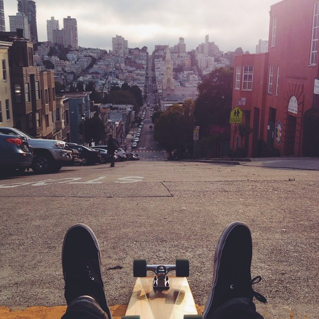In San Francisco for the day. Anything we need to see? #handmade #skateboards #sanfrancisco