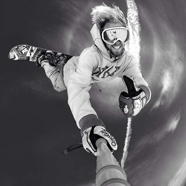 We caught up with @sagekotsenburg for the real post #Olympics #stupidquestions #interview in #issue31 #steezmagazine he couldn't answer them all but still did well... #gopro #snowboarding