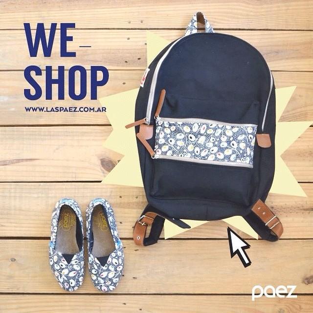Conoces nuestro ShopOnline? #paezshoes directo hasta tu casa, que tul?! laspaez.com.ar #weshop
