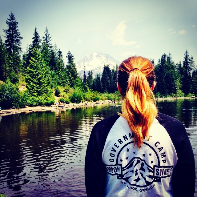 There's no where else we'd rather be this summer than good ol' Mount Hood! Pick up our Government Camp tee and pay tribute to the greatest mountain of all time! #firewaterfriends #mounthood #portland