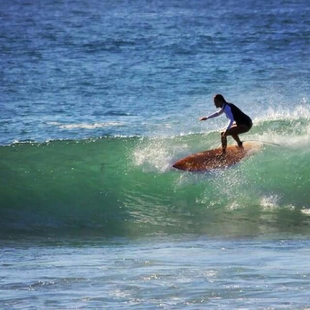 #AkelaSurf  Ambassador Kirra Innes #SurfSwimwear  NeoRetro One piece