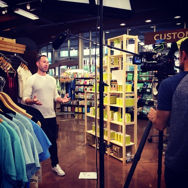 What is @erict4t filming at @wfmlosangeles? Coming soon to www.threadsforthought.com! #bts #comingsoon #wholefoods #wholebody #behindthescenes